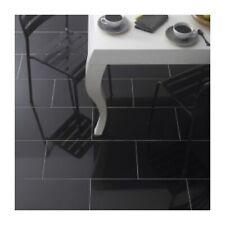 SAMPLE of Absolute Black Gloss Polished Granite Floor Tiles Flooring