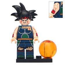 Bardock - Dragon Ball Z Lego Moc Minifigure [Wounded]