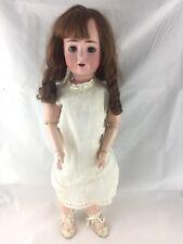 "Alt Beck Bisque Head Doll 23"" Antique"