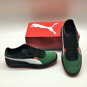 Puma GV Special + LUX 368151 Guillermo Vilas Black Green Sneakers Shoes Mens 8