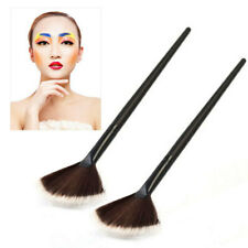 1X Fan Makeup Brush Face Powder Blending Contour Cheek Blusher Highlighter