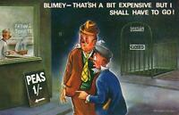 RUDE RISQUE COMIC BAMFORTH DRUNKS THINK they PAY for TOILET POSTCARD - UNUSED