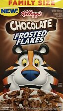Chocolate Frosted Flakes FAMILY SIZE ( Big Box )  24.7 oz