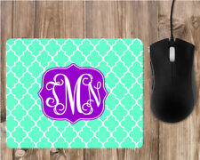 Design Your Own Personalized Monogrammed Rectangle Mouse Pad - Teacher, Office