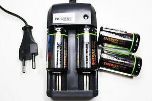 Loader Rs08 +4 Battery C R14 Lr14 4000mah Rechargeable 1.2v NI-MH Accumulator