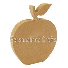 Free Standing Wooden MDF Teachers Apple Shape 150mm High