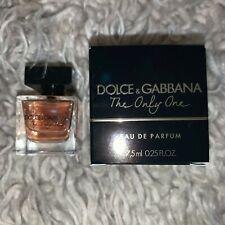 Dolce & Gabbana The Only One  Eau De Parfum 0.25 oz/7.5ml Splash Mini For Women