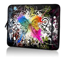 Laptop-Tasche 17,3 Zoll Notebook Sleeve Hülle Neopren Zusatzfach Tragegurt