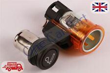 12v Cigarette Lighter Replacment Unit for PEUGEOT BIPPER 2008 Orange