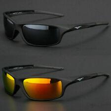NEW Polarized Sport Mens Wrap Around Fashion Sunglasses Fishing Golf Glasses US
