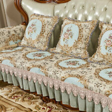 Europe Jacquard Sofa Cover Slipcovers Living Room Loveseat Lace Couch Protector