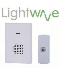 Lightwave Secure Portable Door Chime with Push (LW2101) Door Bell