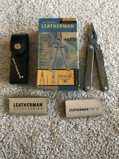 New! Rare and in Box! Retired The Original Leatherman PST II with Leather Sheath