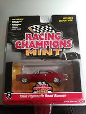 Racing Champions Mint 1968 Plymouth Road Runner Series 2 2016 RED