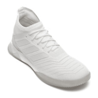 White Adidas Predator 19.1 football trainers indoor shoes boots Mens Footwear