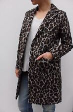 Cappotti e giacche da donna marrone di lunghezza al ginocchio taglia 46