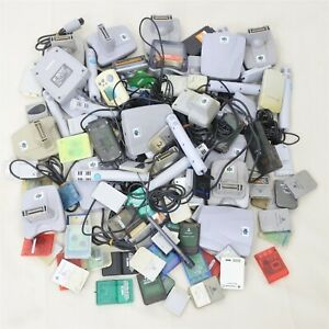 """WHOLESALE Lot of 100 """"NTSC-J"""" Accessories Memory Card Mix FREE Shipping 9111acc"""