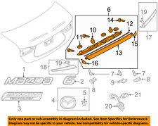 MAZDA OEM 14-17 6 Trunk Lid-Finish Molding GHK150810C