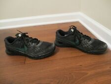 Used Worn Size 11.5 Nike iD Metcon 3 Shoes Black White Green