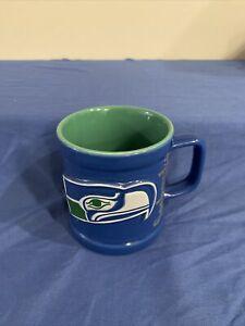 Vintage Seattle Seahawks 1999 NFLP Coffee Mug