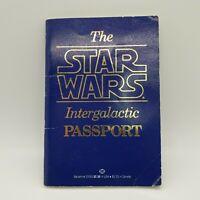 Vintage 1st Edition 1983 Star Wars Intergalactic Passport Ballantine - Fast Ship