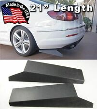 "21""  Rear Side Bumper Lip Skirts Apron Splitter Diffuser Valence Spats For  BMW"
