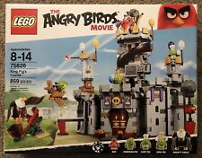 LEGO Angry Birds King Pig's Castle (75826) Building Set * NEW * SEALED *