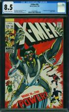 X-Men #56 CGC 8.5 -- 1969 -- 1st app Living Monolith. Original Angel #0353758006