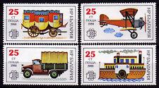 Bulgarien 3724-27 **, Briefmarken-Ausstellung BULGARIA 1998-Fahrzeuge