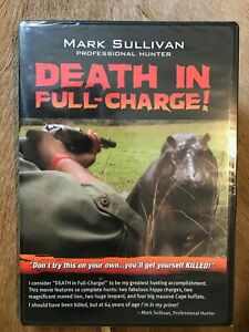 Death in Full Charge African Hunting DVD with Mark Sullivan