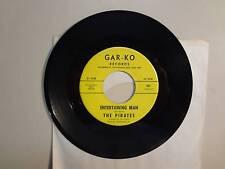 "PIRATES: Entertaining Man 2:17-Crystal Ball 2:23-U.S. 7"" 1965 Gar-Ko Records 661"
