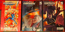 LOT 3 COMICS # ULTIMATE FANTASTIC FOUR n°9-25-28 # MARVEL PANINI