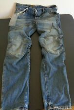 G-Star Raw  5620 Deconstructed 3D Low Tapered Jeans 30x32 Measure 32 x 31 New