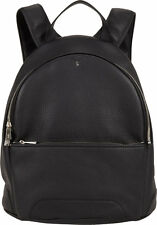 $2200 SERAPIAN Mens Cachemire Jet Set Backpack School Work Briefcase BLACK BAG
