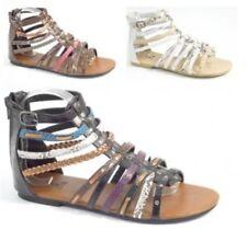 Sandali e scarpe gladiatori multicolore sintetico per il mare da donna