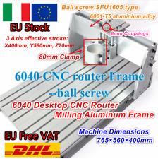 【IT&DE】 6040 Desktop Engraving Milling incisione Macchina Frame Wood CNC Router