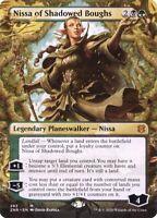 Magic the Gathering (mtg): ZNR: Nissa of the Shadowed Boughs - Rare - Full Art