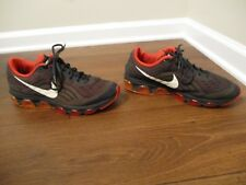 Used Worn Size 10 Nike Air Max Tailwind 6 Shoes Anthracite Orange Red White