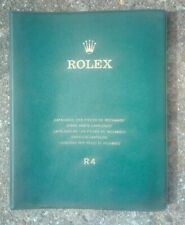 Vintage Rolex R4 dealer guide watch spare parts catalogue rare collectible Swiss