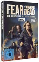Fear the Walking Dead - Komplette Staffel Season 4 [4x DVD] *NEU* DEUTSCH UNCUT