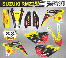 Suzuki RMZ 250 2007-2016 custom Rockstar Graphics kit (Aufkleber, Adesivi)