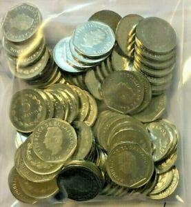 EL SALVADOR 5 CENTAVOS KM-154B 1994 x 100 Pcs Lot MORAZAN UNC COIN MONEY LATINO