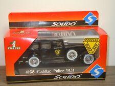 1931 Cadillac Police - Solido 1:43 Box *36938