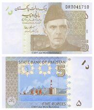 Pakistan 5 Rupees 2009 P-53b Banknotes UNC