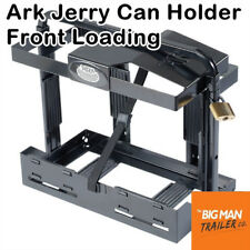 Ark Jerry Can Holders Front Loading Black Metal Pad Lock Anti Siphon 20 Litre