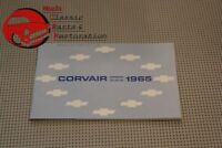 1965 65 Chevrolet Chevy Corvair Owners Owner's Manual
