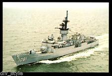 USS aylwin ffg-1081 Tarjeta Postal NOS Marina Barco rápido Fragata knox-class
