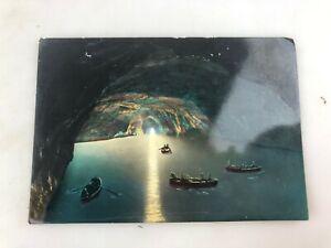 VINTAGE POSTCARD - BLUE GROTTO - SEA CAVE - CAPRI - NOT USED