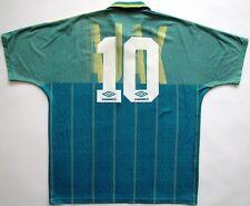 Ajax Amsterdam #10 Bergkamp 1991 1992 Abn Amro Umbro shirt camiseta vintage 90s
