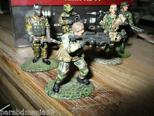 Vente figurines plomb  Del prado-Comando francais,allemand,para.........